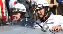 Mille Miglia 2010 - Joschka Fischer und Klaus Draeger