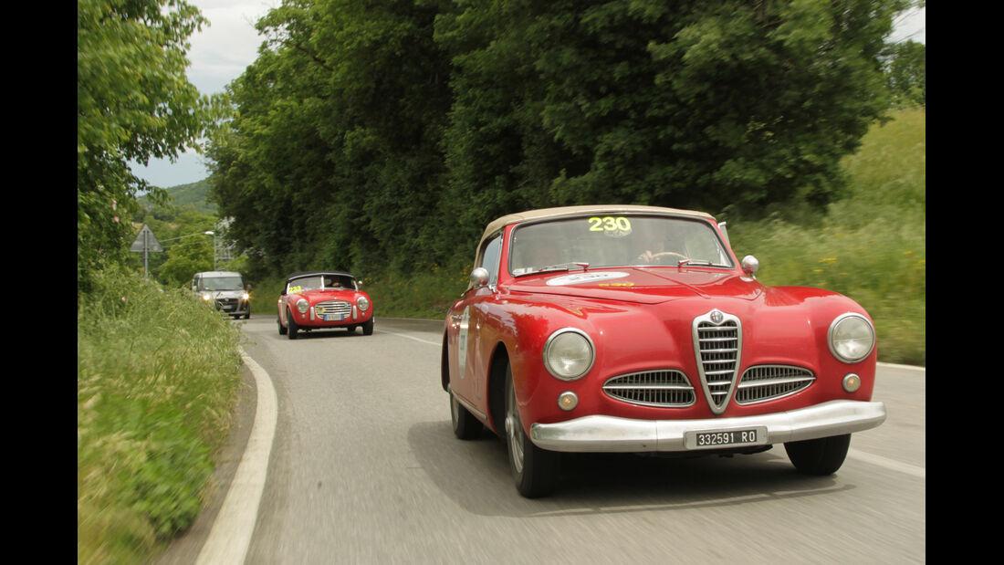 Mille Miglia, Alfa Romeo, Impressionen