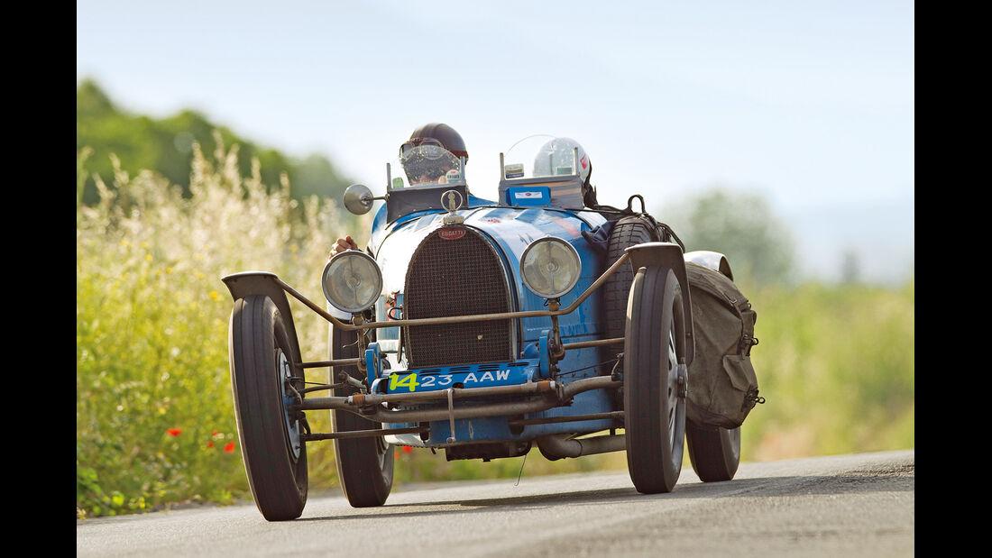 Mille Miglia, Bugatti T35 T, Frontansicht