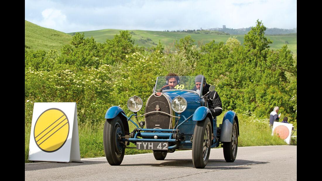 Mille Miglia, Bugatti T40, Tonconog, Berisso