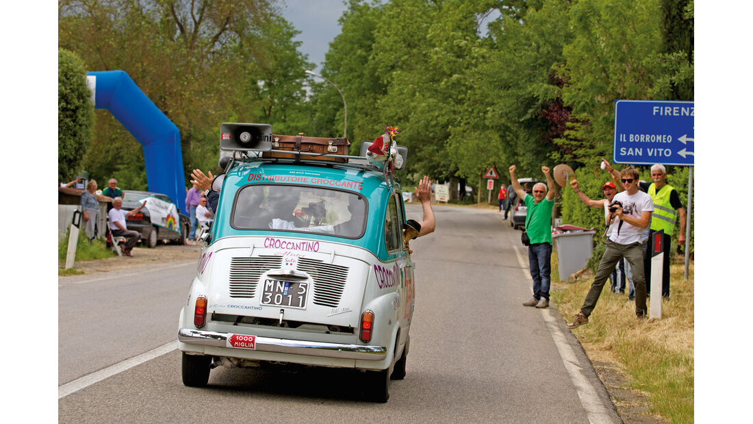Mille Miglia, Fiat Mulitpla, Heckansicht