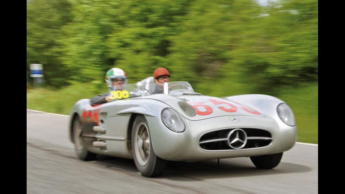 Mille Miglia, Mercedes 300 SLR, David Coulthard