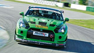 Milltek-Nissan GT-R, Frontansicht