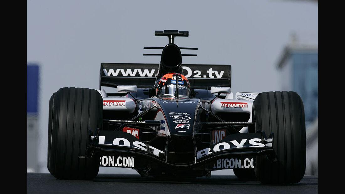 Minardi- Rennwagen, 2005