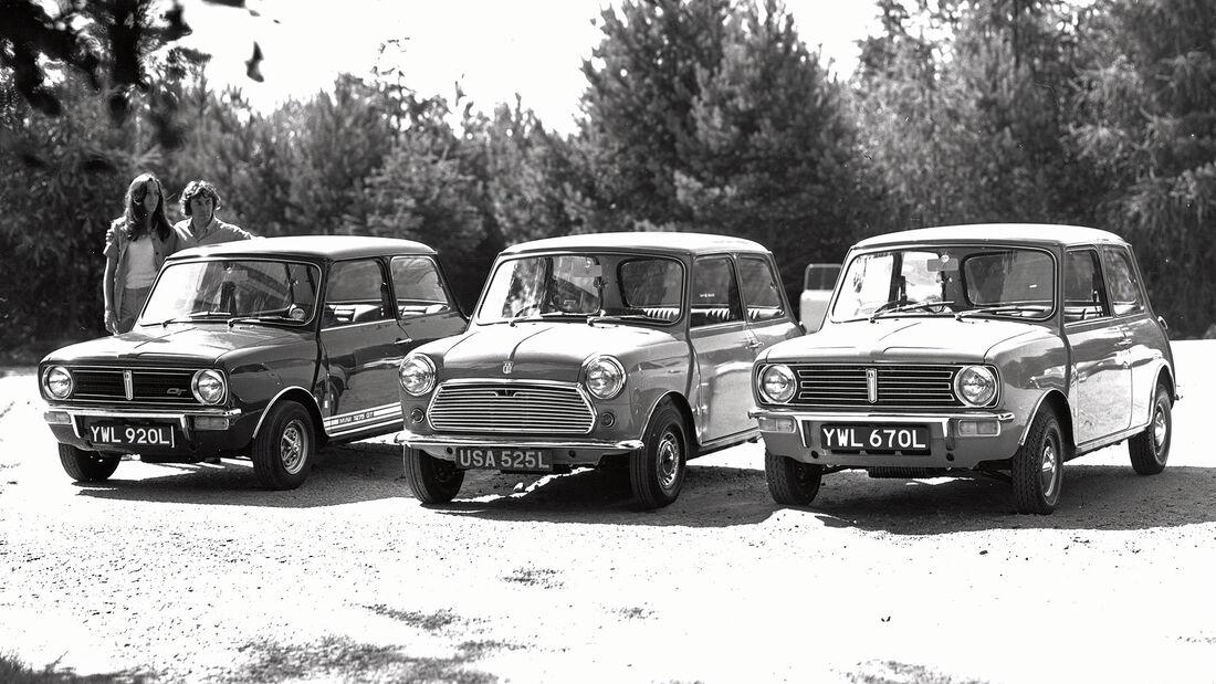Mini 1275 GT, Mini 1000, Mini Clubman 1973