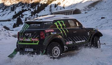 Mini All4 Racing, Eis, Schnee, Rallye Dakar
