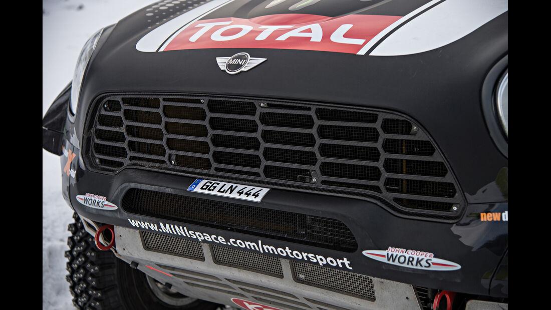 Mini All4 Racing, Kühler, Rallye Dakar