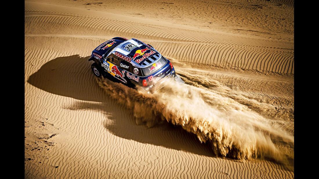 Mini All4-Racing, Prototyp, Dubai, Wüste, Impression