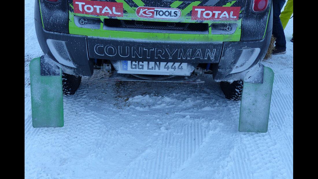 Mini All4 Racing, Rallye Dakar