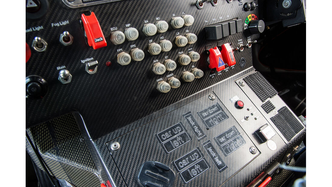 Mini All4 Racing, Rallye Dakar, Cockpit