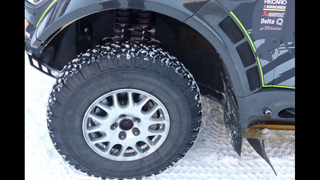Mini All4 Racing, Rallye Dakar, Reifen