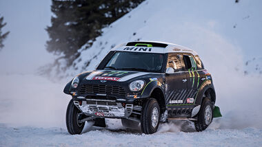 Mini All4 Racing, Schnee,