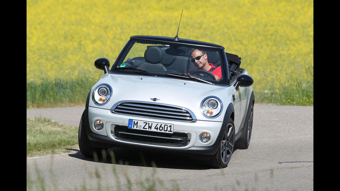 Mini Cabrio, Frontansicht
