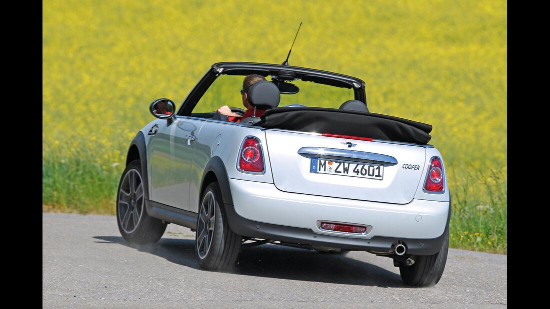 Mini Cabrio, Heckansicht