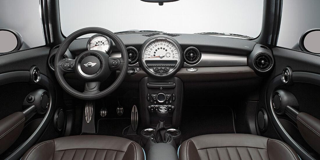Mini Cabrio Highgate, Cockpit