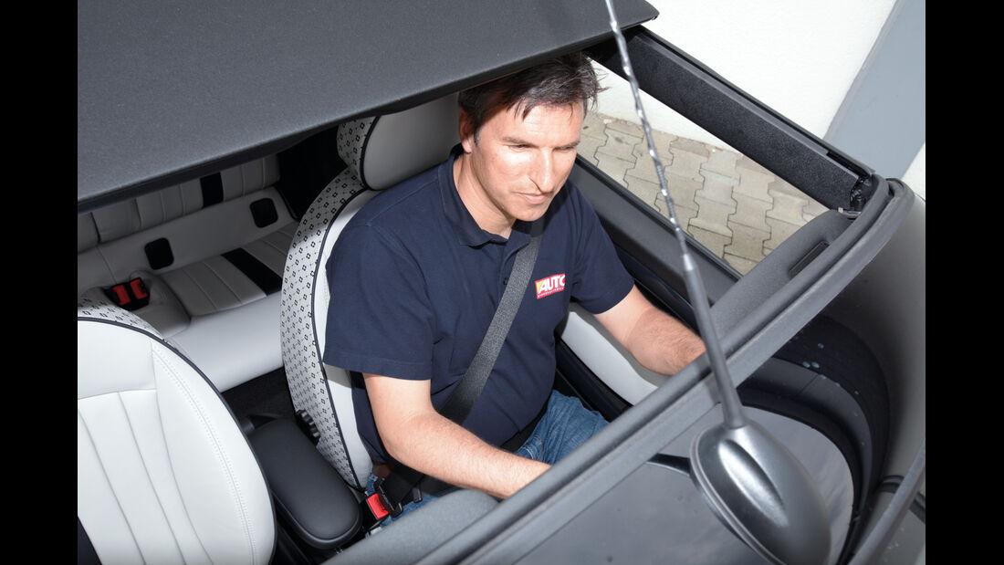 Mini Cabrio, Mini Roadster, Elektrisches Verdeck