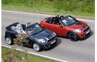 Mini Cabrio, Mini Roadster, Seitenansicht