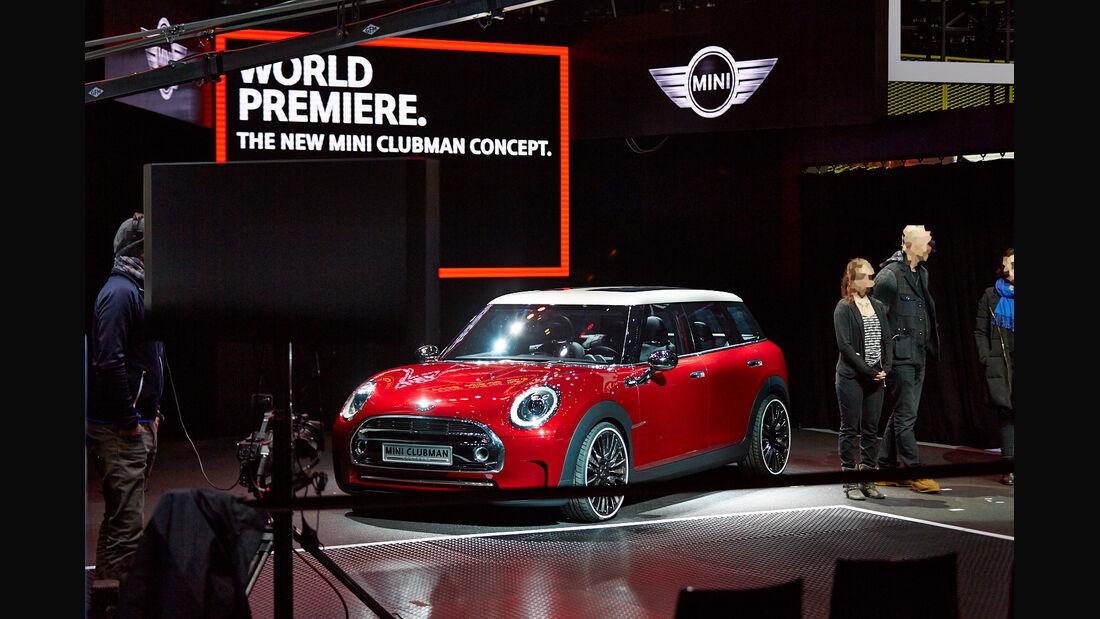 Mini Clubman Concept, Genfer Autosalon, Messe 2014