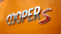 Mini Clubman Cooper S Schriftzug