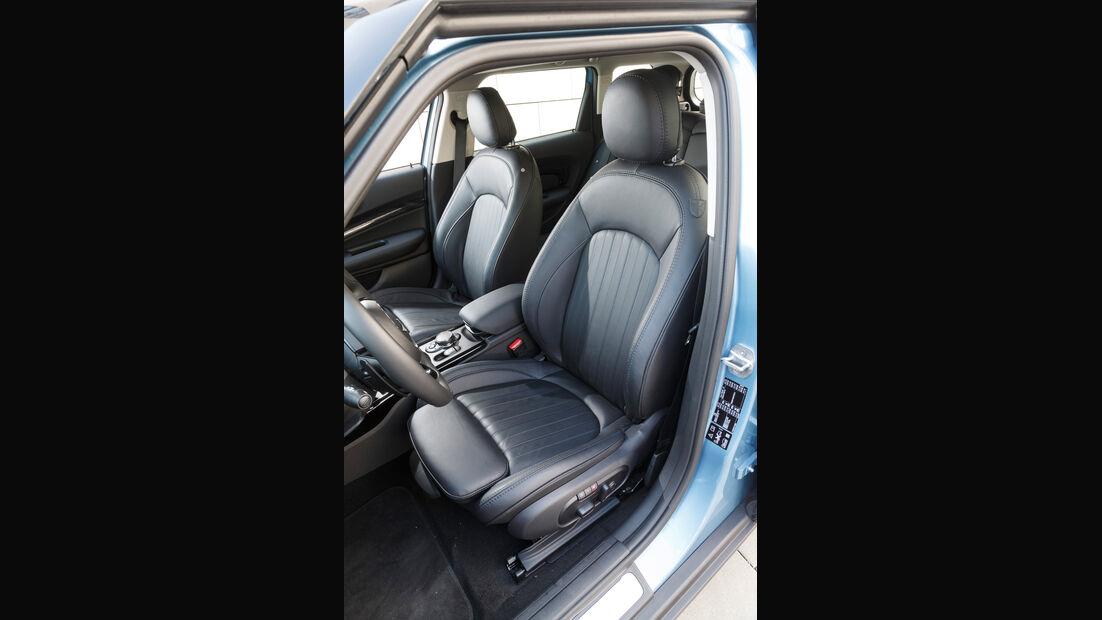 Mini Clubman Cooper SD All4, Fahrersitz