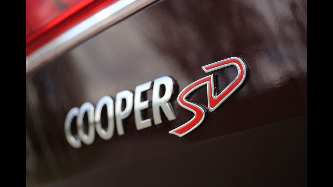 Mini Clubman Cooper SD Schriftzug