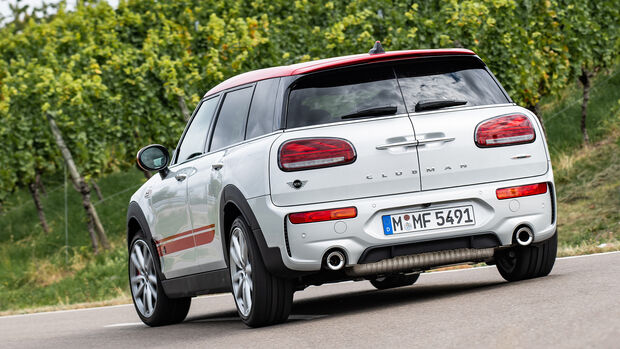 Mini Clubman John Cooper Works All4, Exterieur