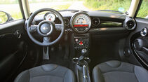 Mini Clubman One D, Cockpit, Innenraum