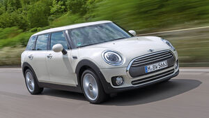 Mini Clubman One D, Frontansicht