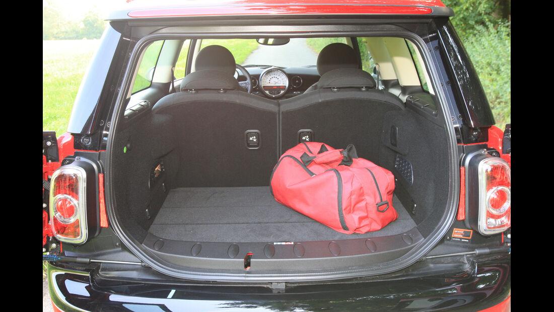 Mini Clubman One D, Kofferraum