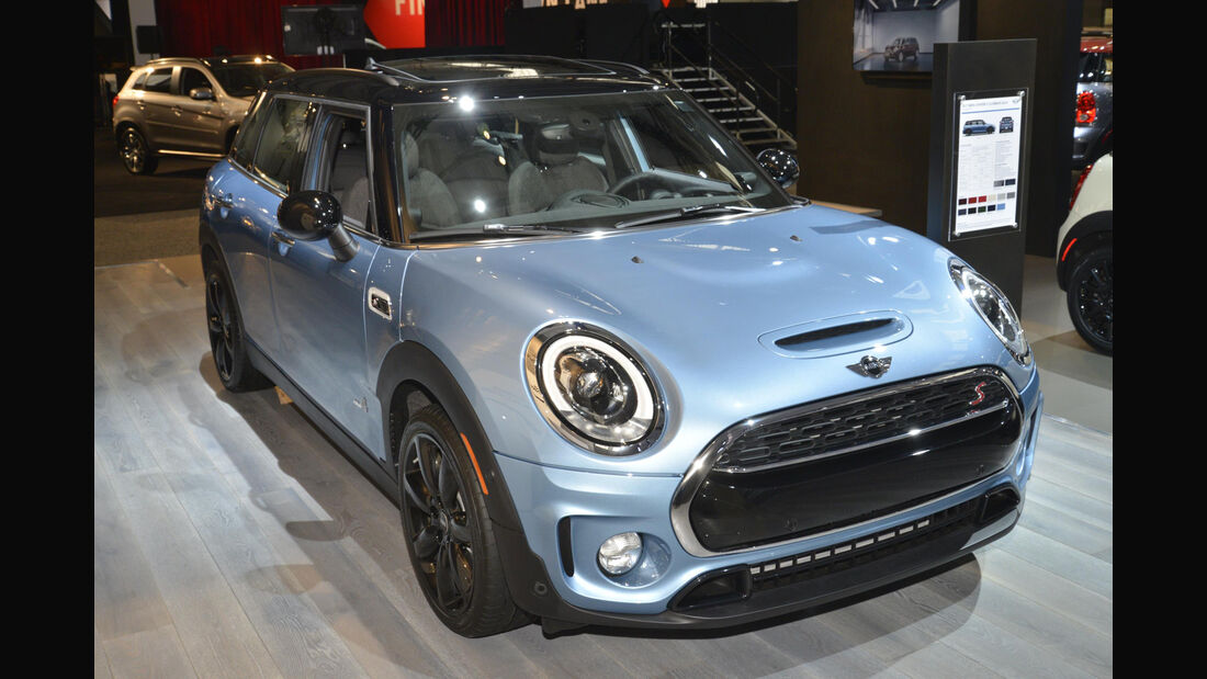 Mini Clubman S All4, Front