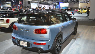 Mini Clubman S All4, Heck