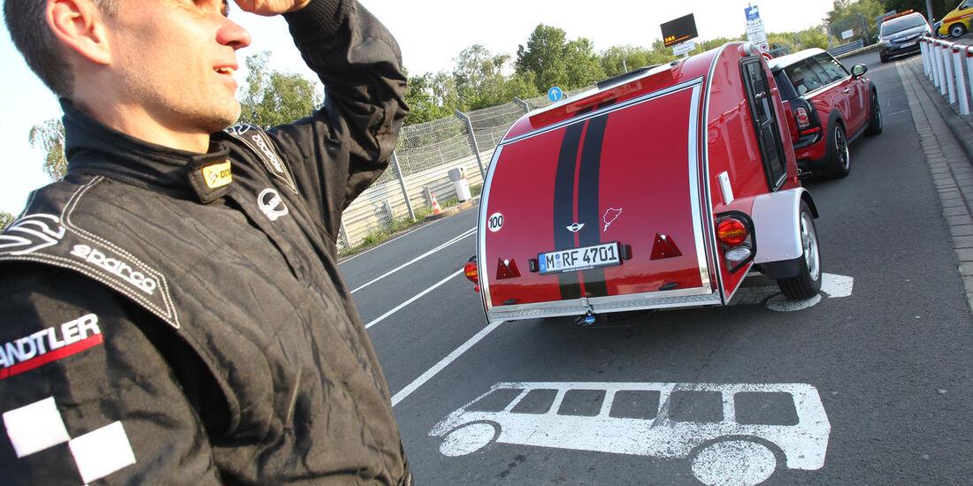 Mini Clubmann Cooper SD mit Cowley, Heckansicht