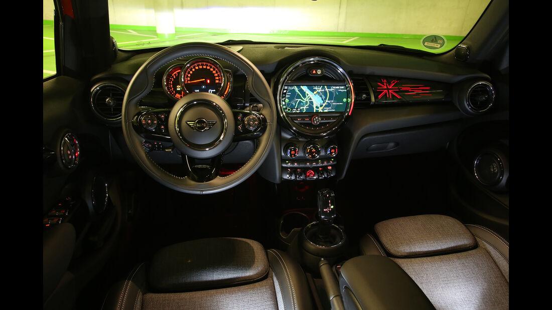 Mini Cooper 5-Türer, Interieur