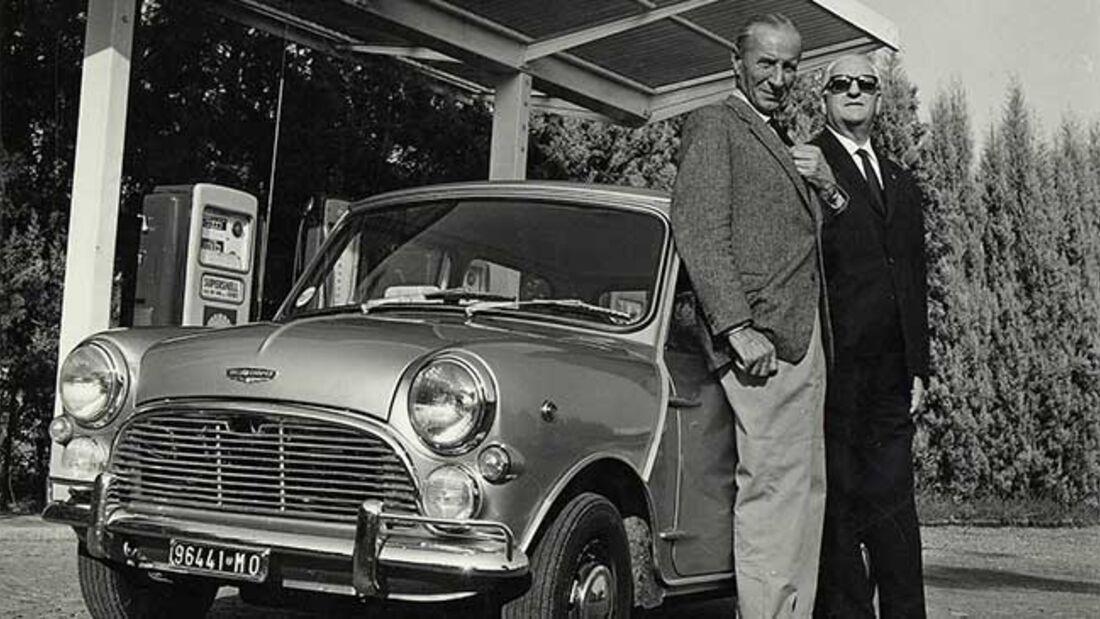 Mini Cooper Alex Issigonis Enzo Ferrari (1964)