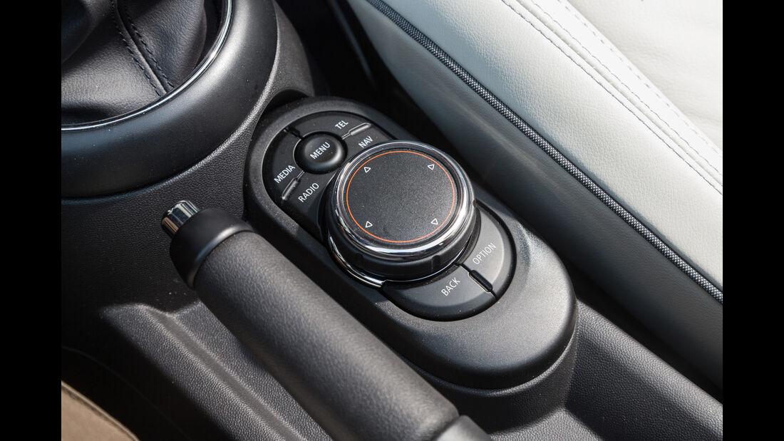 Mini Cooper Cabrio, Bedienelemente