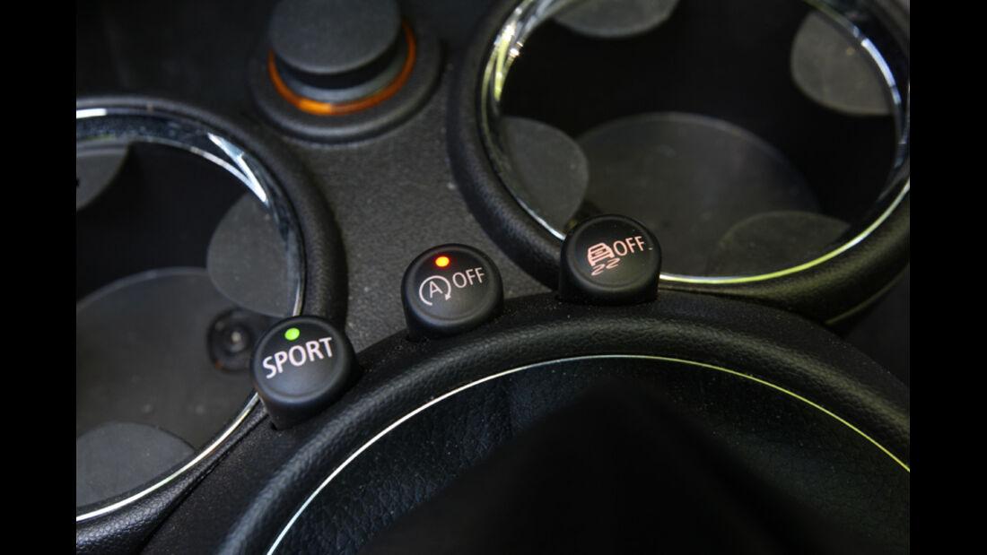 Mini Cooper Cabrio, Detail, Cockpit