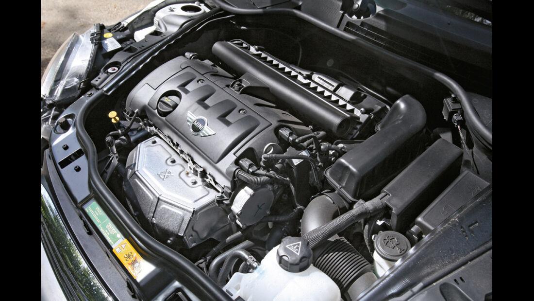 Mini Cooper Cabrio, Detail, Motor