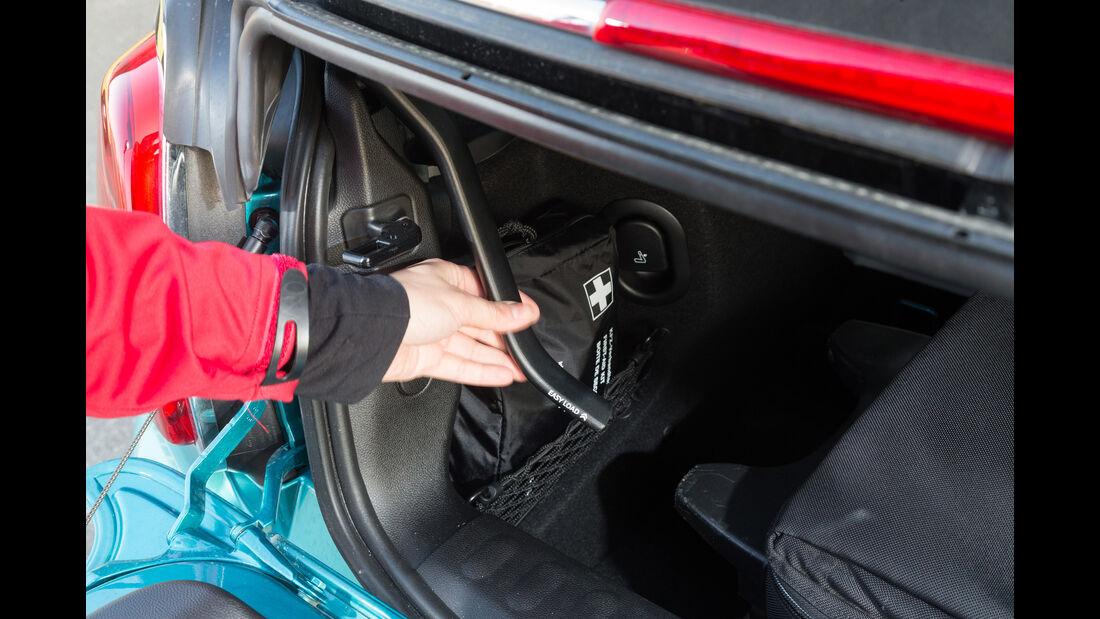 Mini Cooper Cabrio, Easy Load