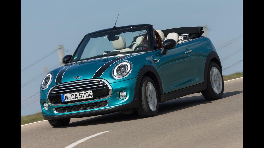 Mini Cooper Cabrio, Frontansicht