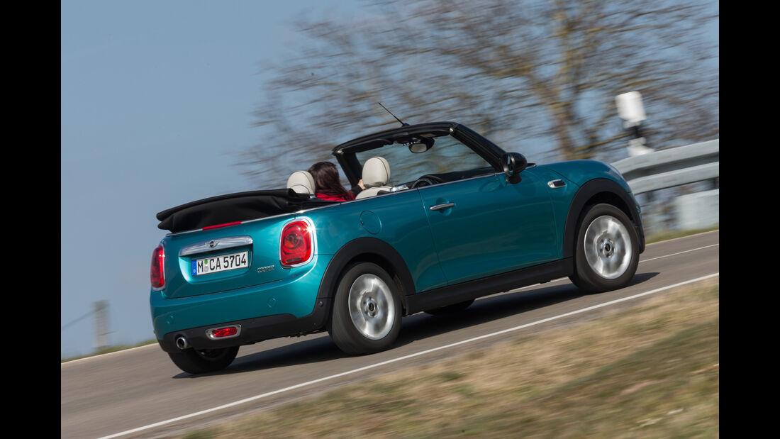 Mini Cooper Cabrio, Heckansicht