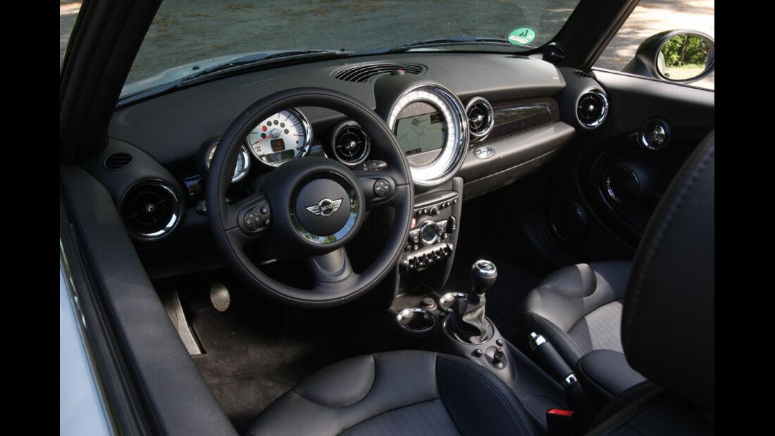 Mini Cooper Cabrio, Lenkrad, Cockpit
