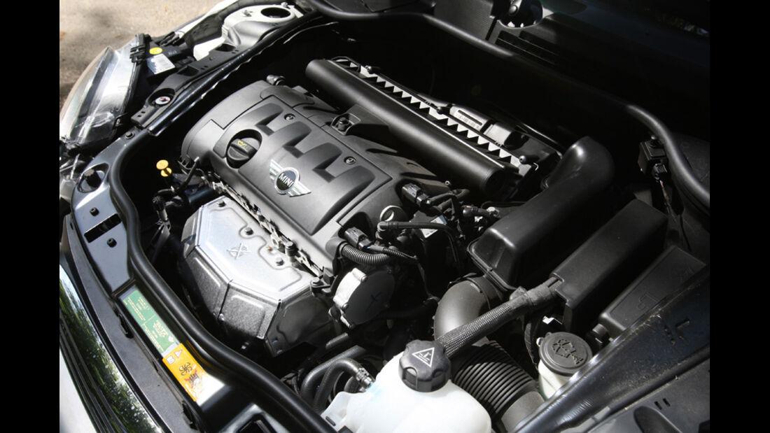 Mini Cooper Cabrio, Motor, Motorraum
