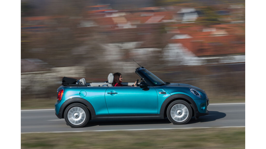 Mini Cooper Cabrio, Seitenansicht