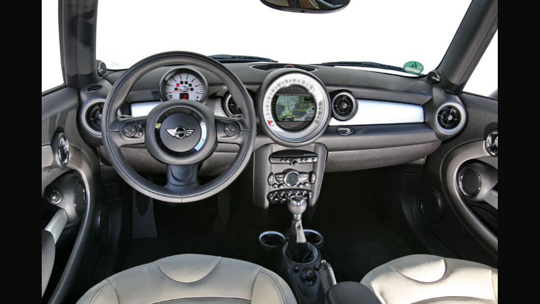 Mini Cooper, Cockpit, Innenraum