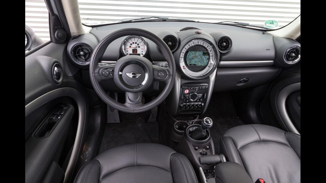 Mini Cooper Countryman, Cockpit, Lenkrad