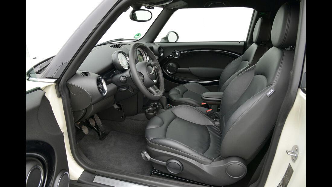 Mini Cooper D Clubvan, Fahrersitz