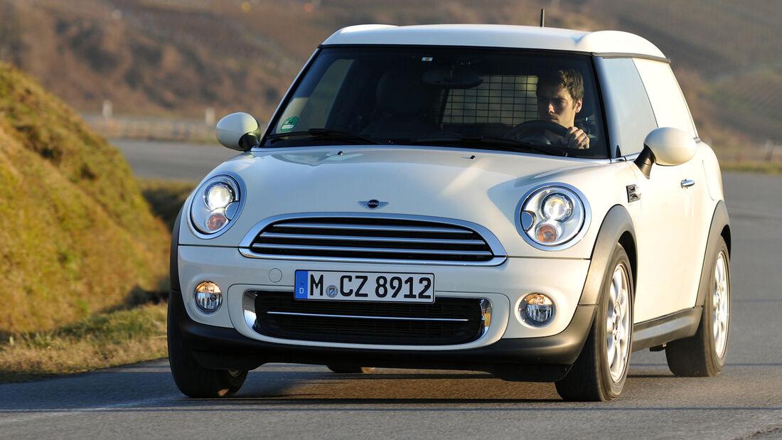 Mini Cooper D Clubvan, Frontansicht