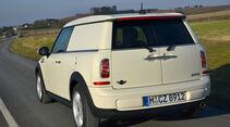 Mini Cooper D Clubvan, Heckansicht