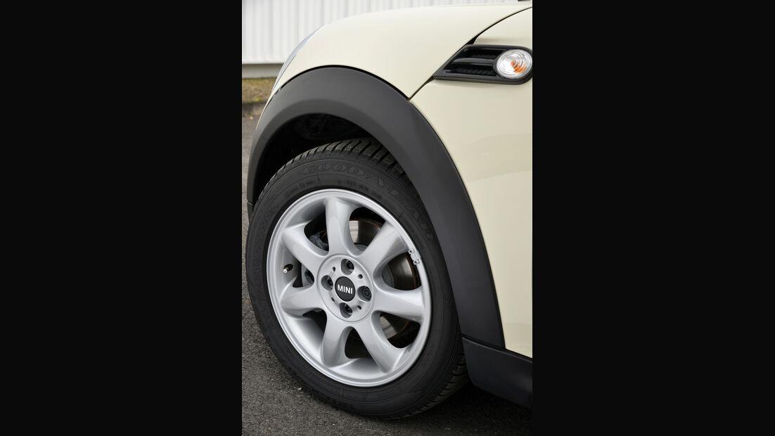 Mini Cooper D Clubvan, Rad, Felge