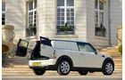 Mini Cooper D Clubvan, Seitenansicht, Heckklappe